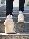 Чоловічі кросівки в стилі Adidas Yeezy Boost 350 V2 Milk, Адідас Ізі буст 350 (Репліка ААА), фото 5