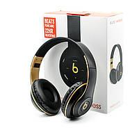 Bluetooth наушник Beats Solo 3 черные (replica)