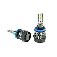 Автолампа LED H11 Cyclon 5600LM, 6000K, 12-24V Epistar flip chip type 24