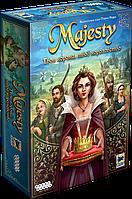 Majesty: Твоя корона, твое королевство. Настольная игра. Hobby World.