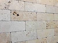 Травертин Travertine Tumbler плитка каменная размер 250х70х10 мм. для наружных и внутренних работ