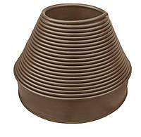 """Садовий бордюр """"Екобордюр"""" Оптимальний (20м) ТИП2 коричневий, бордюрна стрічка"""