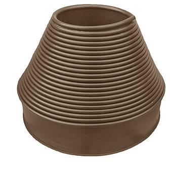 """Садовый бордюр """"Екобордюр"""" Оптимальный (20м) ТИП2 коричневый"""