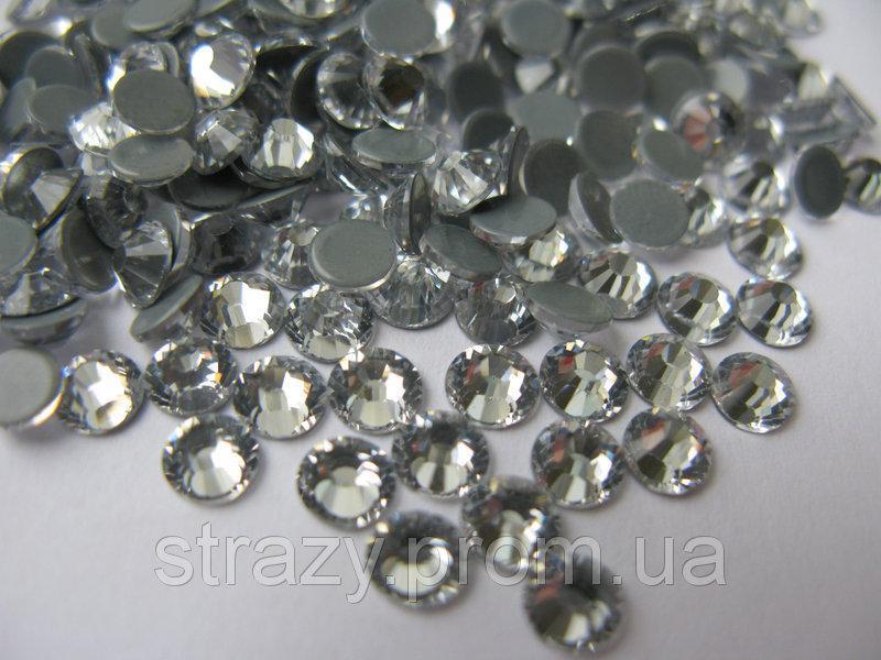 "Термо-стразы ss50 Сrystal 144шт. (10мм) ""Crystal Premium"""