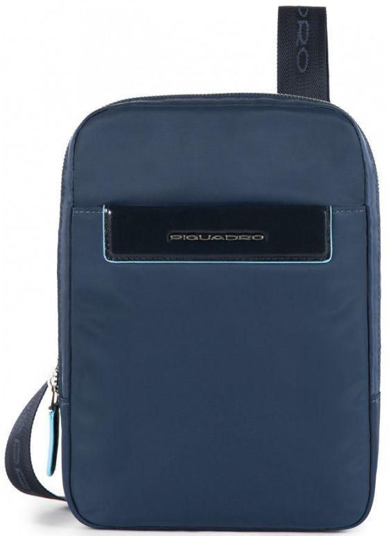 316de22b595d Кожаная сумка через плечо Piquadro CELION CA3084CE_BLU, синий ...