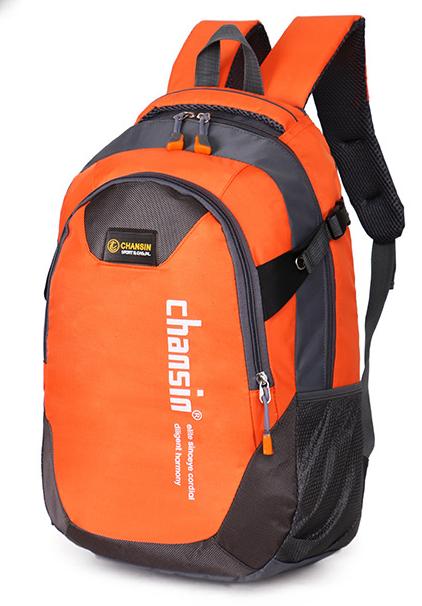 Рюкзак Chansin серо-оранжевый