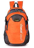 Рюкзак Chansin серо-оранжевый, фото 2