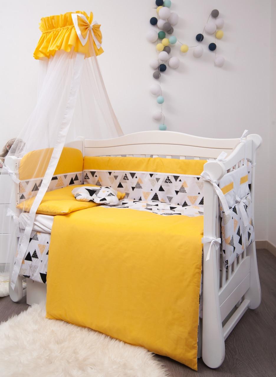 Детское постельное белье Twins Premium Modern P-105 Эскимо yellow 8 эл