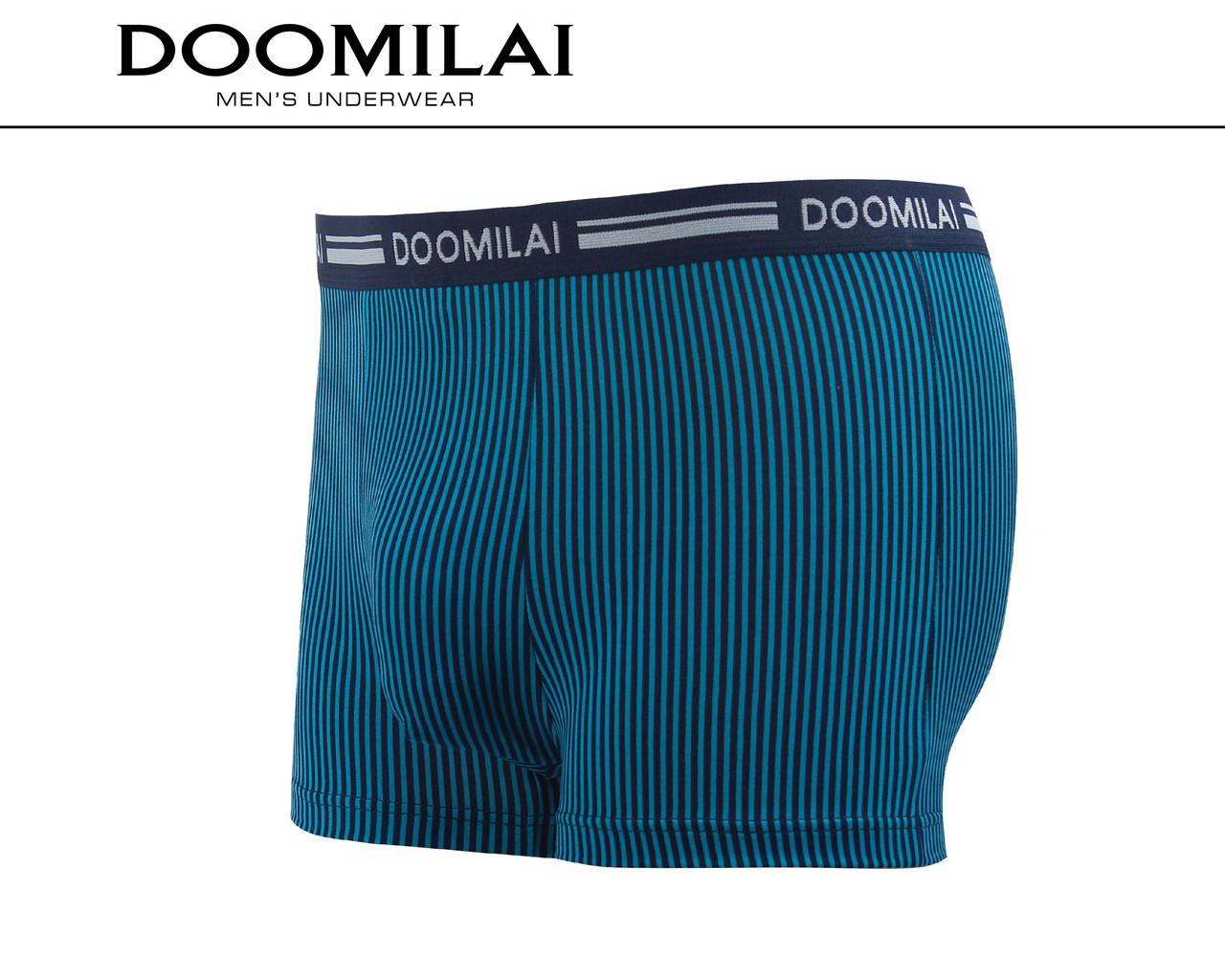 Мужские боксеры стрейчевые из бамбука  Марка  «DOOMILAI» Арт.D-01175