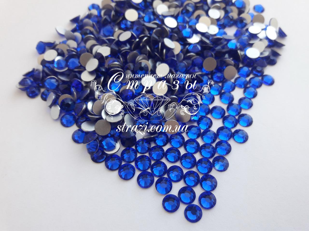 Стразы ss20 Sapphire, 100шт. (4,6-4,8мм)