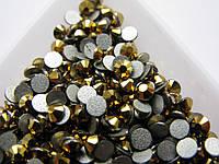 Стразы ss20 Gold, 100шт, (4,6-4,8мм)