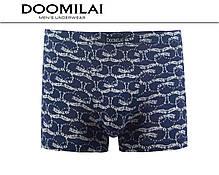 Мужские боксеры стрейчевые из бамбука  Марка  «DOOMILAI» Арт.D-01177, фото 3