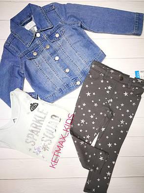 Джинсовая куртка The Children's Place для девочки, фото 2