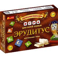Настольная игра для всей семьи Эрудит 12120031