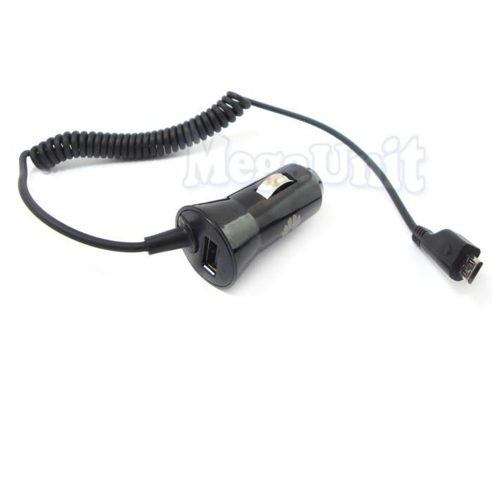 Автомобильное ЗУ Huawei 2в1 microUSB + USB выход