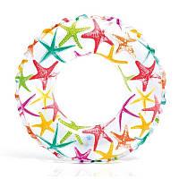 Надувной круг для плаванья 3-6 лет 51 см Intex 59230