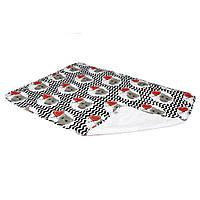 Двухсторонняя непромокаемая пеленка Eco Cotton  65х90 см ТМ ЭКО ПУПС EPG10N-6590, фото 1
