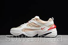 """✔️ Кроссовки Nike M2K Tekno """"White/Peach""""  , фото 3"""