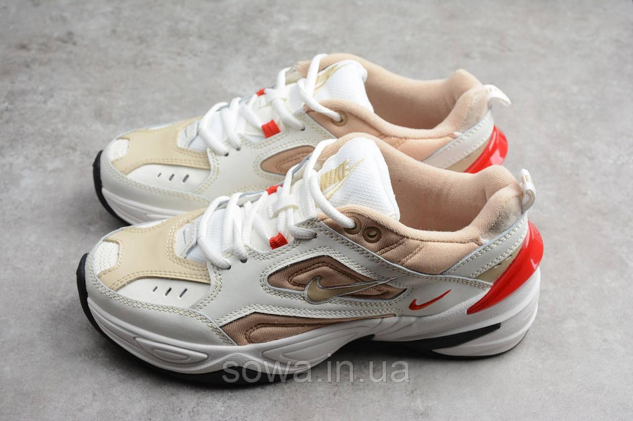 """✔️ Кроссовки Nike M2K Tekno """"White/Peach"""""""