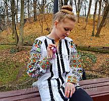 Заготовка жіночї сорочки БС-144 для вишивки нитками/бісером/рубкою