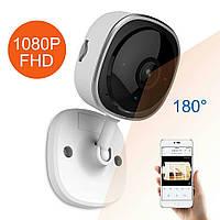 SANNCE I41HD 1080 P Fisheyeбеспроводная Wi-Fi IP-камера. Камара ночного видения. Домашняя безопасность