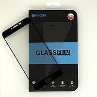 Защитное стекло MOCOLO для Meizu M3 Note полноэкранное черное