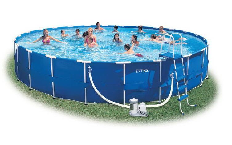 Каркасный круглый бассейн Intex 28262 (732*132 см)