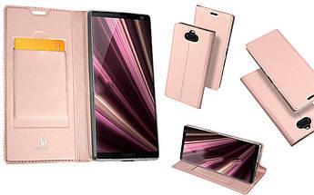 Чехол-книжка для Sony Xperia 10 Skin Pro - Rose Gold
