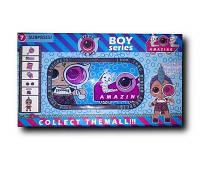 Кукла игрушка сюрприз LOL ЛОЛ в капсуле, мальчик