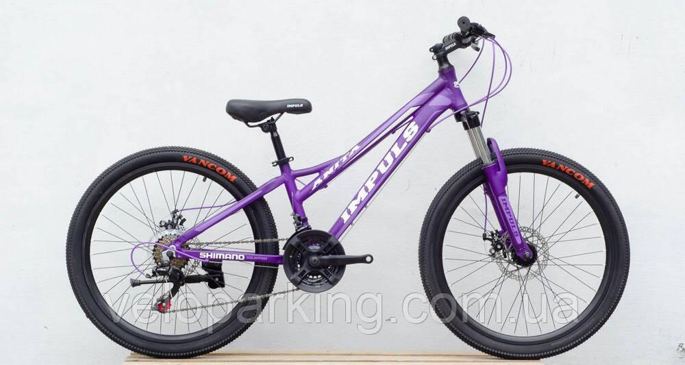 Горный алюминиевый подростковый велосипед для 24 Crossover Anyta (2019) new