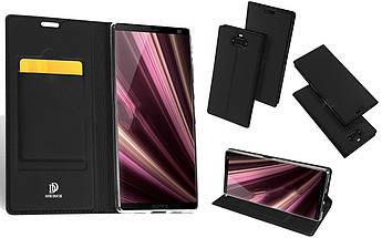 Чехол-книжка для Sony Xperia 10 Skin Pro - Black