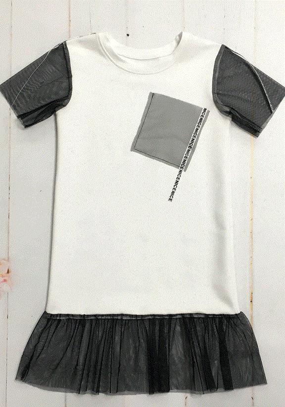 Оригинальное платье летнее для девочки