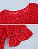 Мереживна блузка-накидка (в кольорах), фото 7