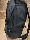 Рюкзак Supreme jeans с кожаным дном Унисекс Спортивный городской стильный только ОПТ, фото 3