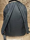 Рюкзак Supreme jeans с кожаным дном Унисекс Спортивный городской стильный только ОПТ, фото 4