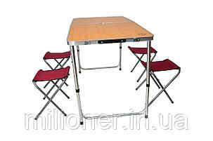 Раскладной стол для пикника со стульями Bonro модель D, фото 2