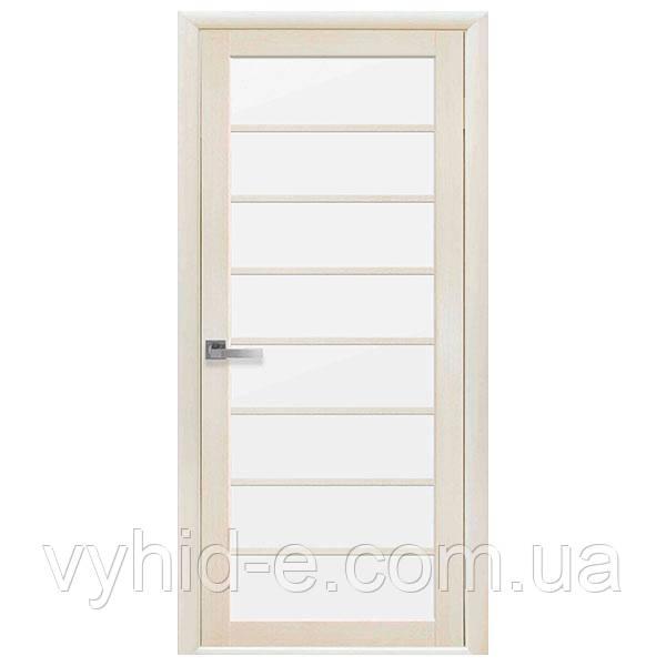 """Двері міжкімнатні """"Віола"""" зі склом (ТМ Новий стиль)"""