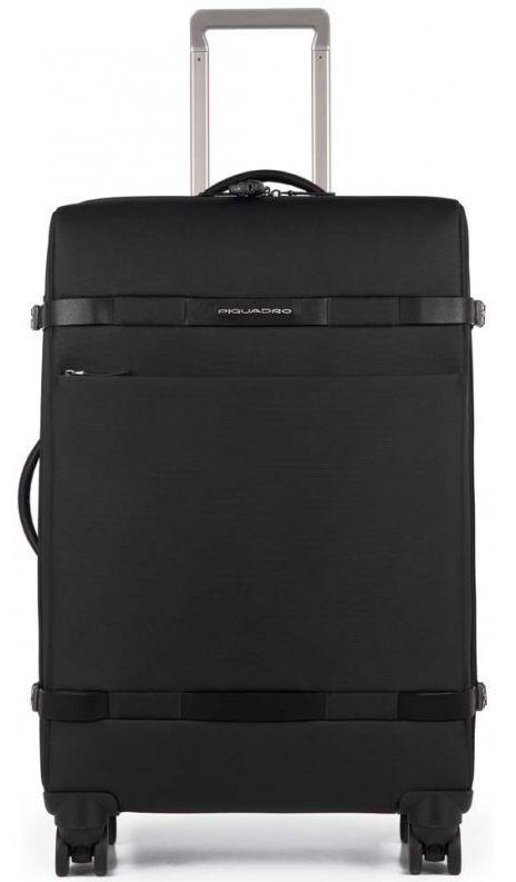 Средний тканевый чемодан Piquadro Move2 BV3874M2_N 63 л, черный