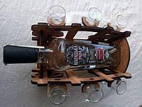 Мини-бар Телега с рюмками