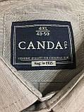 Рубашка хлопковая CANDA.(4XL\ 50), фото 4