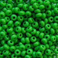 Чеський бісер для вишивання Preciosa (Прециоза) оригінальний 5г 31119-53230-10 зелений