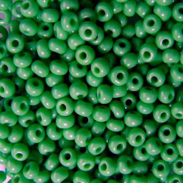 Чешский бисер для вышивания Preciosa (Прециоза) оригинальный 5г 31119-53210-10 зеленый