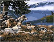 Картина по номерам Babylon Волчье убежище