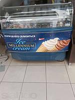 Витрина морозильная для мягкого мороженого  б\у