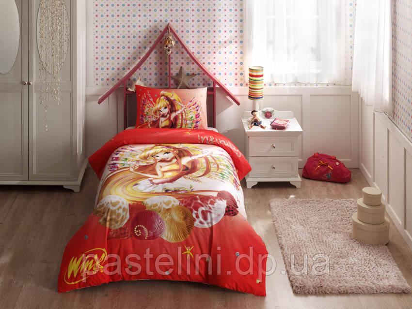 Детское постельное бельё TAC Winx Stella Infiniti  (Винкс Стелла Инфинити)