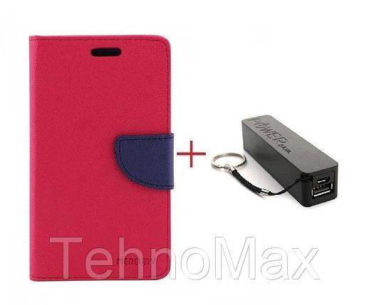 Чехол книжка Goospery для Meizu A5 + Внешний аккумулятор (Powerbank) 2600 mAh (в комплекте). Подарок!!!, фото 2
