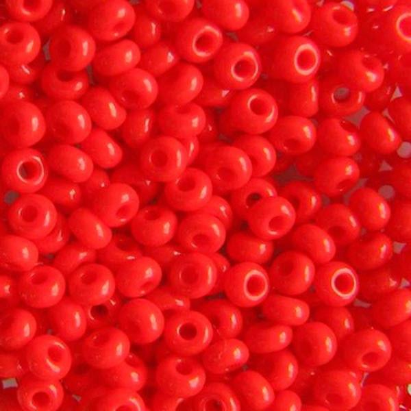 Чешский бисер Preciosa (Прециоза) оригинал 5г 31119-93170-10 красный