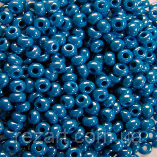 Чешский бисер Preciosa (Прециоза) оригинал 5г 33119-38220-10 синий