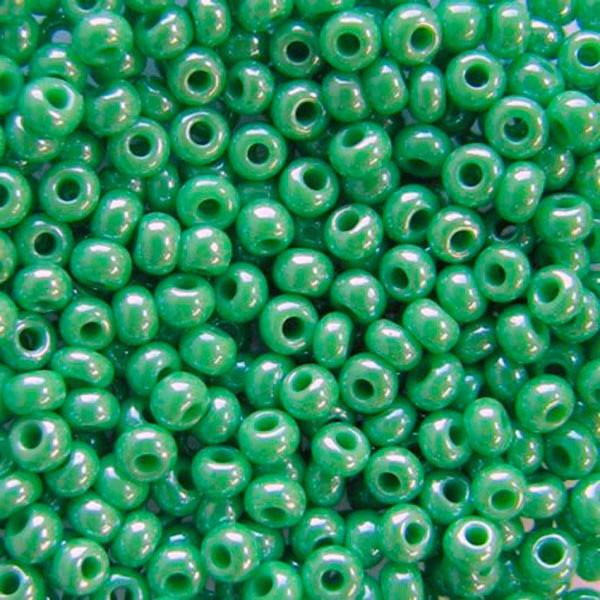 Чеський бісер Preciosa (Прециоза) оригінал 5г 33119-58210-10 зелений