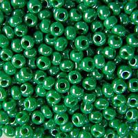 Чешский бисер Preciosa (Прециоза) оригинал 5г 33119-58250-10 зеленый